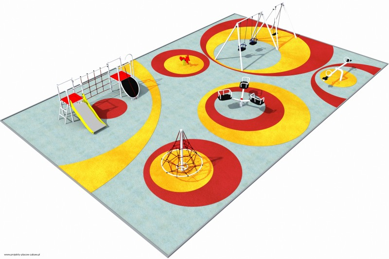PARK (3-8 lat) - projekt placu zabaw