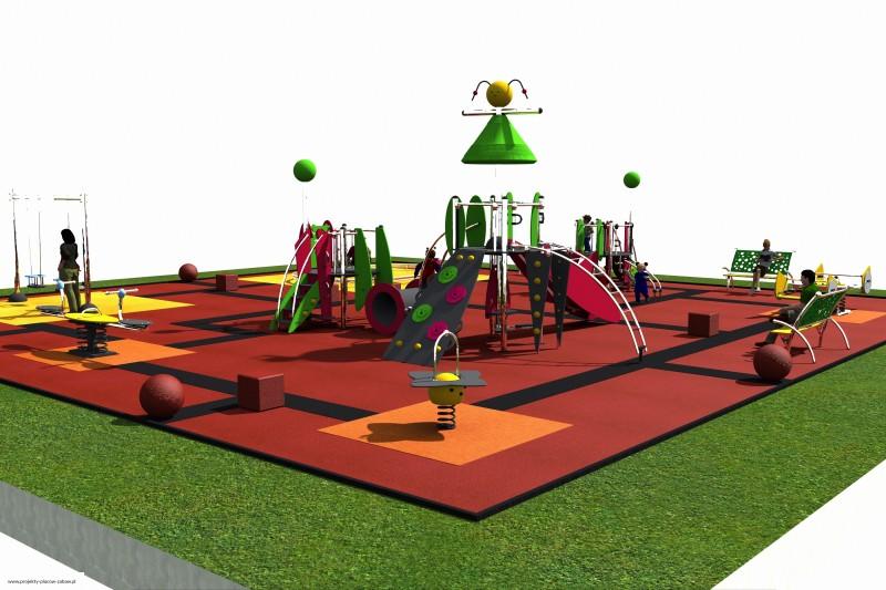 place zabaw dla dzieci - projekt placu zabaw