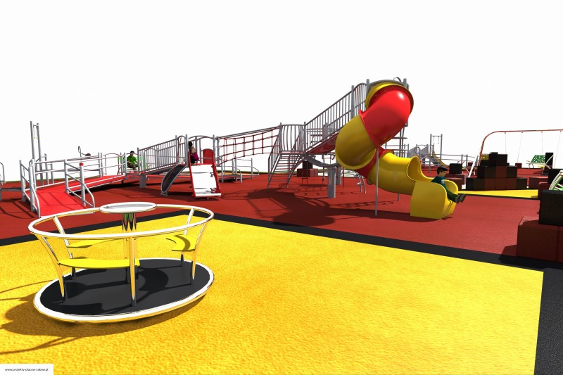 multiobiekt - projekt placu zabaw