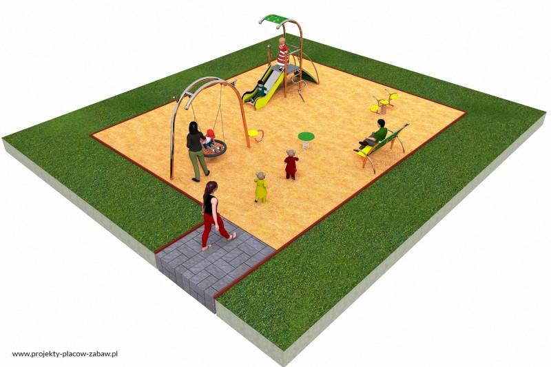 LIMAKO dzieci (3-8 lat) - projekt placu zabaw