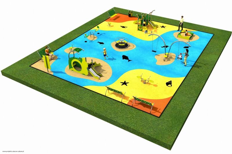 LIMAKO maluch (1-6 lat) place zabaw dla dzieci najmłodszych - projekt placu zabaw