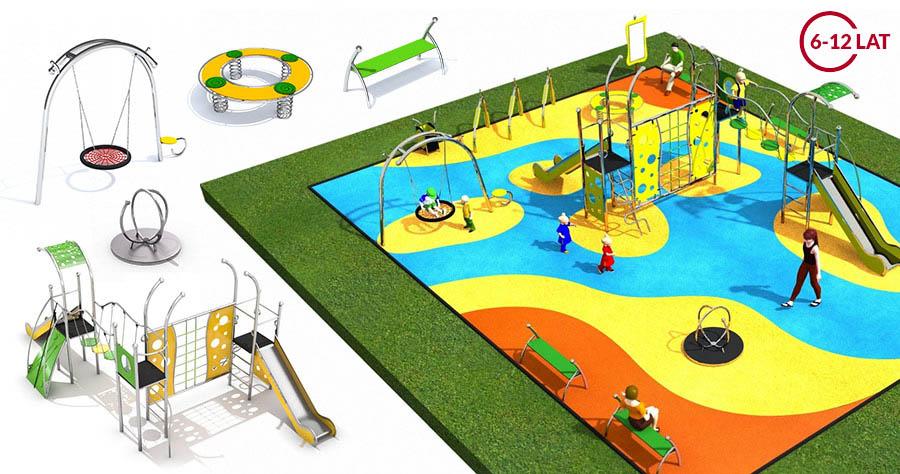 Gotowy projekt placu zabaw dla Architektów