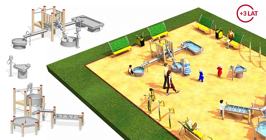 Projekt placu zabaw Fabryka wody