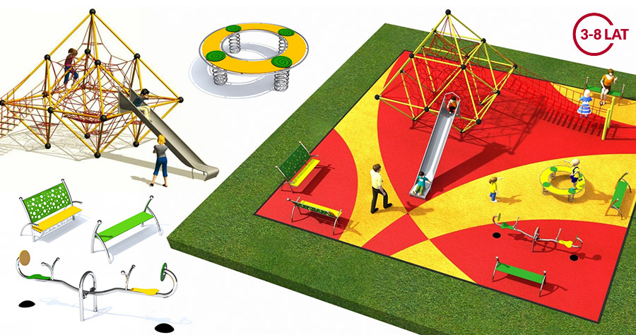 Projekt placu zabaw Linarium