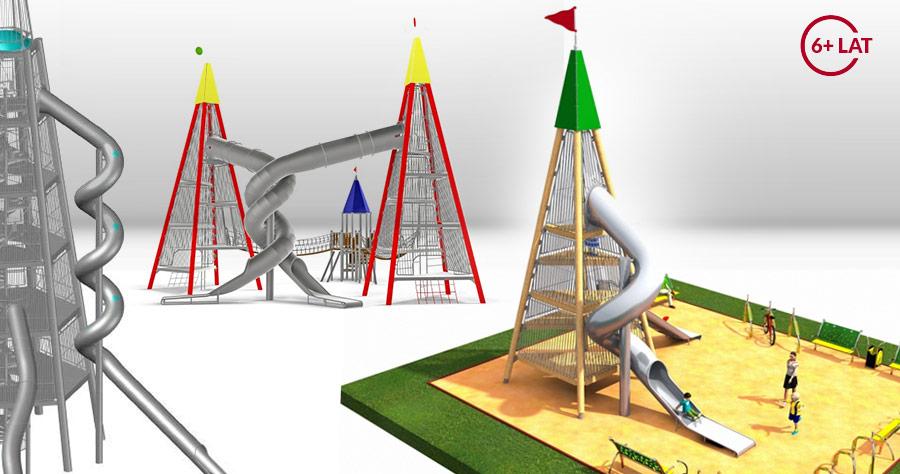 Projekt placu zabaw Wieża Widokowa